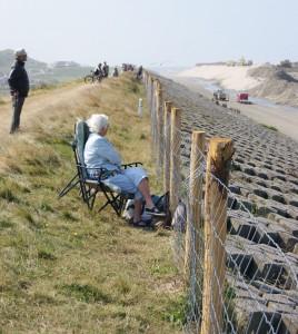 dagjesmensen Hondsbossche kustwerken