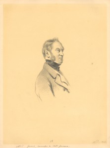 Portret mr. Gevers van Endegeest, lid van de Staten-Generaal, door Nicolaas Pieneman, 1843 (Stichting Archief van het Huis Oranje-Nassau, inv.nr.: AL/8-18).
