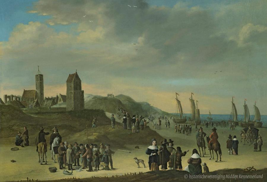 Duinen En Mensen » Oudst Bekende Schilderij Wijk Aan Zee