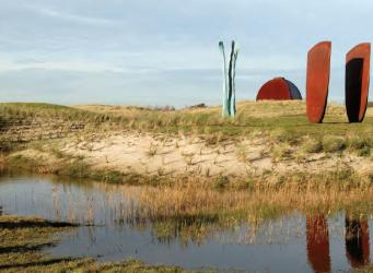De Nollen: grote kunst in een klein kustlandschap