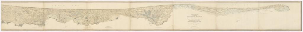 Duinkaart-1828-Duinenenmensen_nl-Gevers- NL-HaNA_FINAN_06 150-Zandvoort-Huisduinen