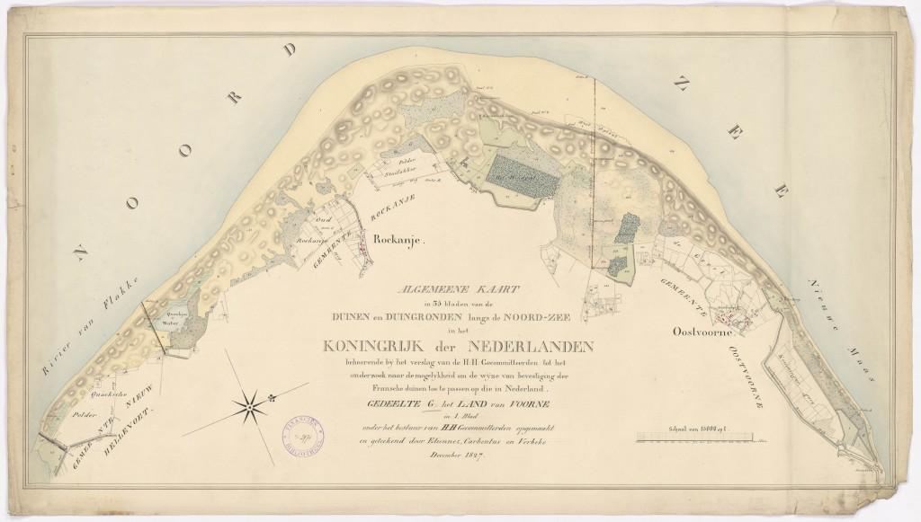 Duinkaart-1828-Duinenenmensen_nl-Gevers- NL-HaNA_FINAN_08-Voorne