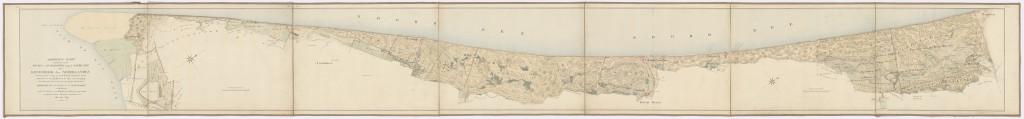 Duinkaart-1828-Duinenenmensen_nl-Gevers- NL-HaNA_FINAN_03 150-Hoek_van_Holland-Zandvoort