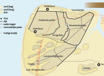 Huisduinen: van vaste wal eiland naar kustdorp