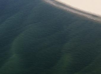Onder het Marsdiep lopen zandgolven