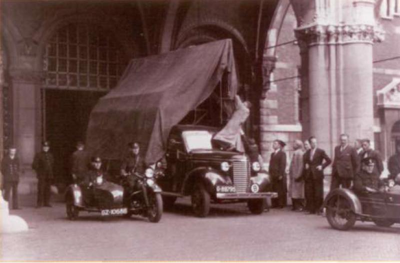 Vervoer Nachtwacht 1939