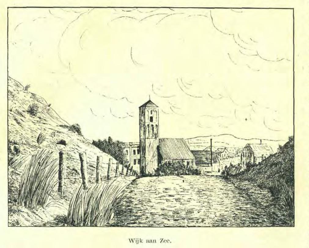 kerk Wijk aan zee W. de Koning 1907