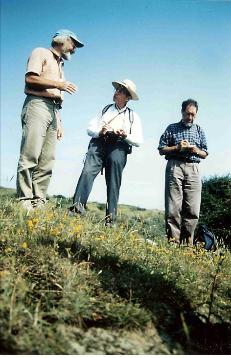 VLNR Harm Snater, Victor Westhoff en Henk Doing 1992 Wimmenummerduinen Foto Rolf Roos