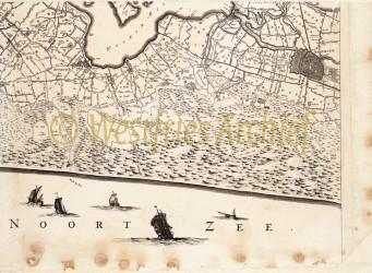 wfa westfries archief his kaart J.Dou 1660 OE heemskerk haarlem1V47-NatuurMedia-Duinen-en-mensen