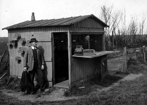 Vinkenbaan Dirk Hoos, Solleveld (ca. 1935). Foto: Frans Kooijmans.