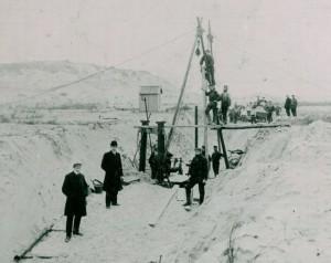 waterwinkanaal, aanleg