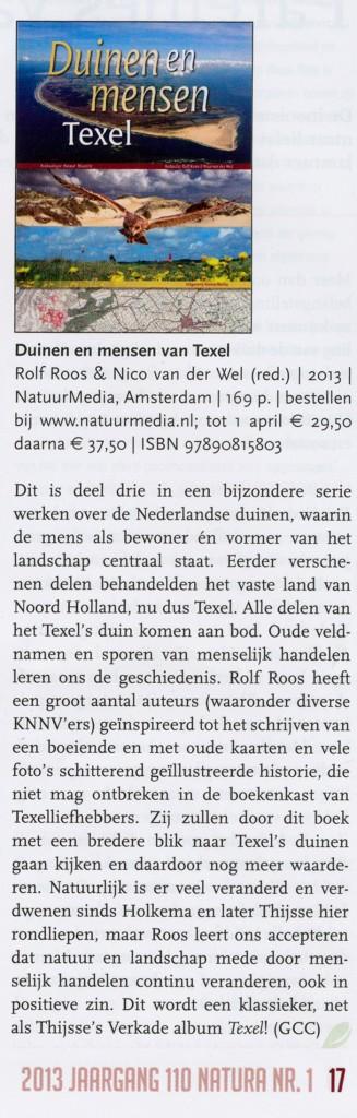 Vooraankondiging Natura door Gerhard Cadee