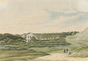 Duinoord, Domburg (tekening, bron: Zeeuws Archief)