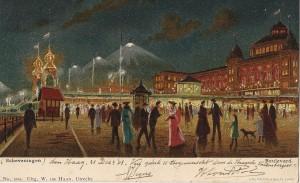 De boulevard van Scheveningen in 1903 (collectie Dorine van Hoogstraten)