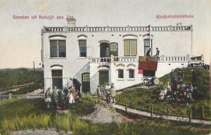 Kinderkoloniehuis in Katwijk (bron: Dorine van Hoogstraten)