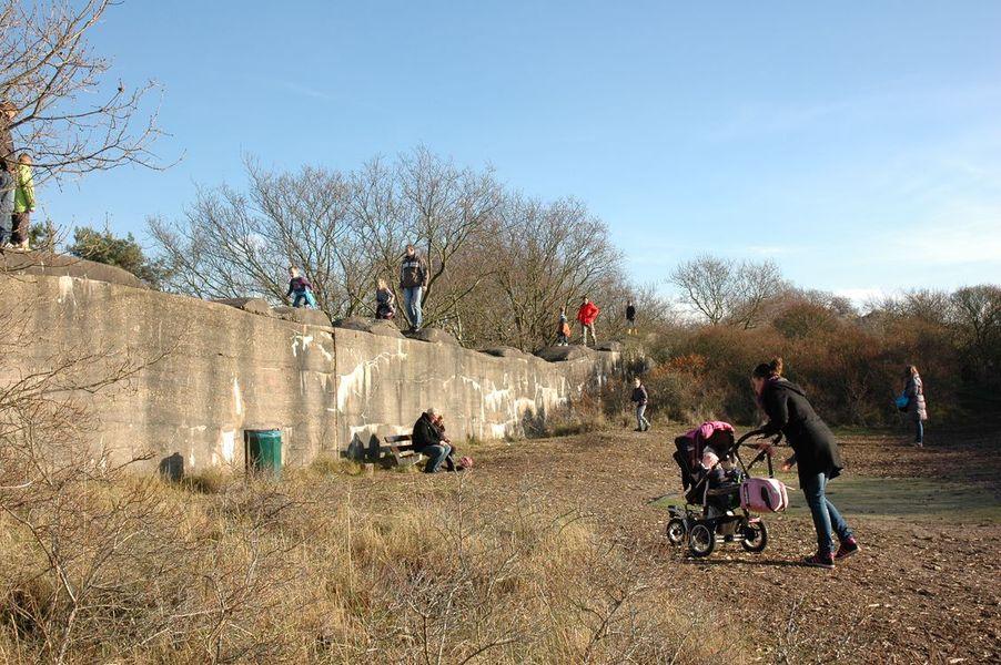 Antitankmuur in Katwijk (foto: Marijke Beek)