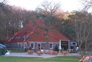 Gasterij De Kruisberg in de duinen bij Heemskerk. Foto: Rolf Roos