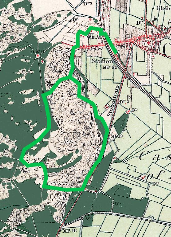 Reconstructie wandeling Eli Heimans ca 1906 rond Papenberg