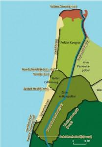 Kust als zeewering, dijken Kop van Noord-Holland