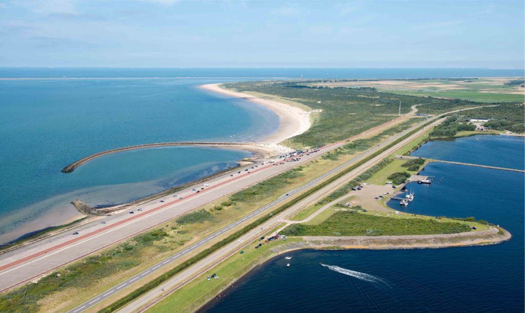 kust, Brouwersdam