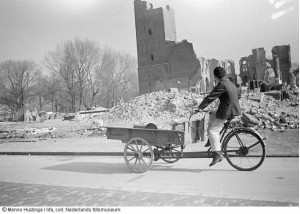 De sloop van Den Haag (foto: Menno Huizinga, Nederlands Fotomuseum)