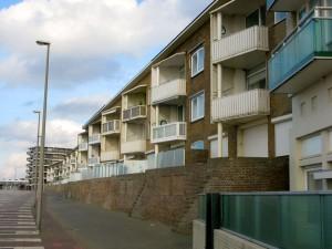 Zandvoort, Boulevard: Appartementencomplex voor vakantiegangers