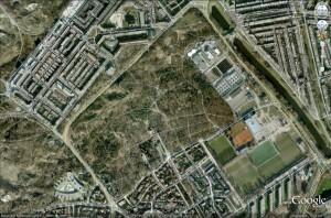 Bosjes van Poot ingeklemd tussen Duindorp en de Haagse Vogelwijk