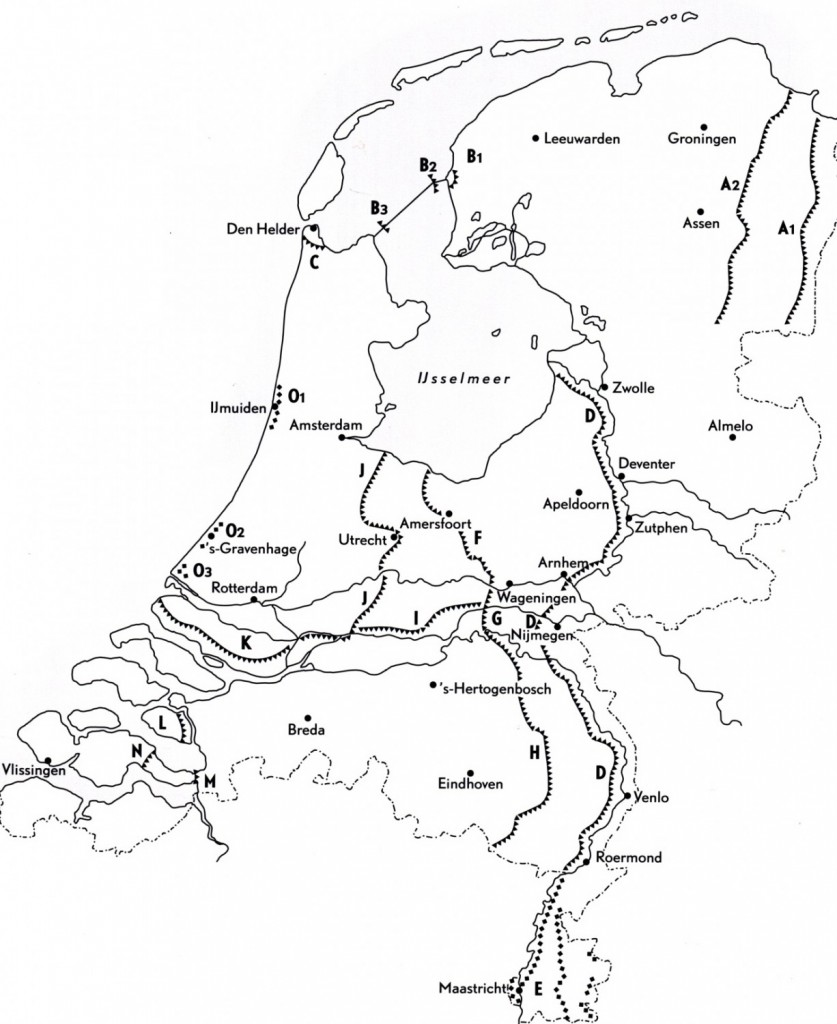 militaire kustverdediging voor 1940