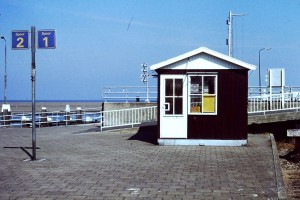 Station Harlingen Haven in 1985. Bron: Wikimedia Commons