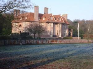 Het landhuis Voorlinden