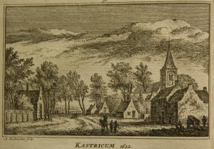 NH kerk Castricum 1622, uit Zegepralent Kennemerland