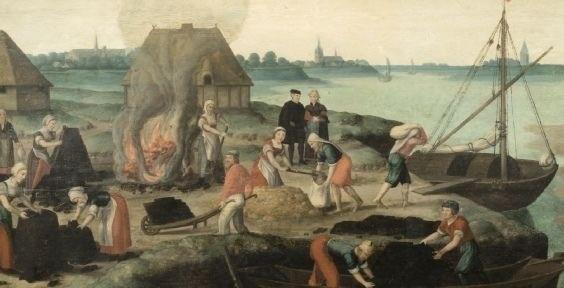 Zoutwinning, kust als productielandschap