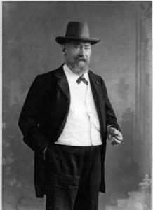 H.W. Mesdag. Foto Rüloffs Knibbe, Haags Gemeentearchief