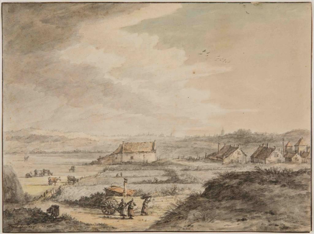 La Fargue.Scheveningen.ca 1750.HGA