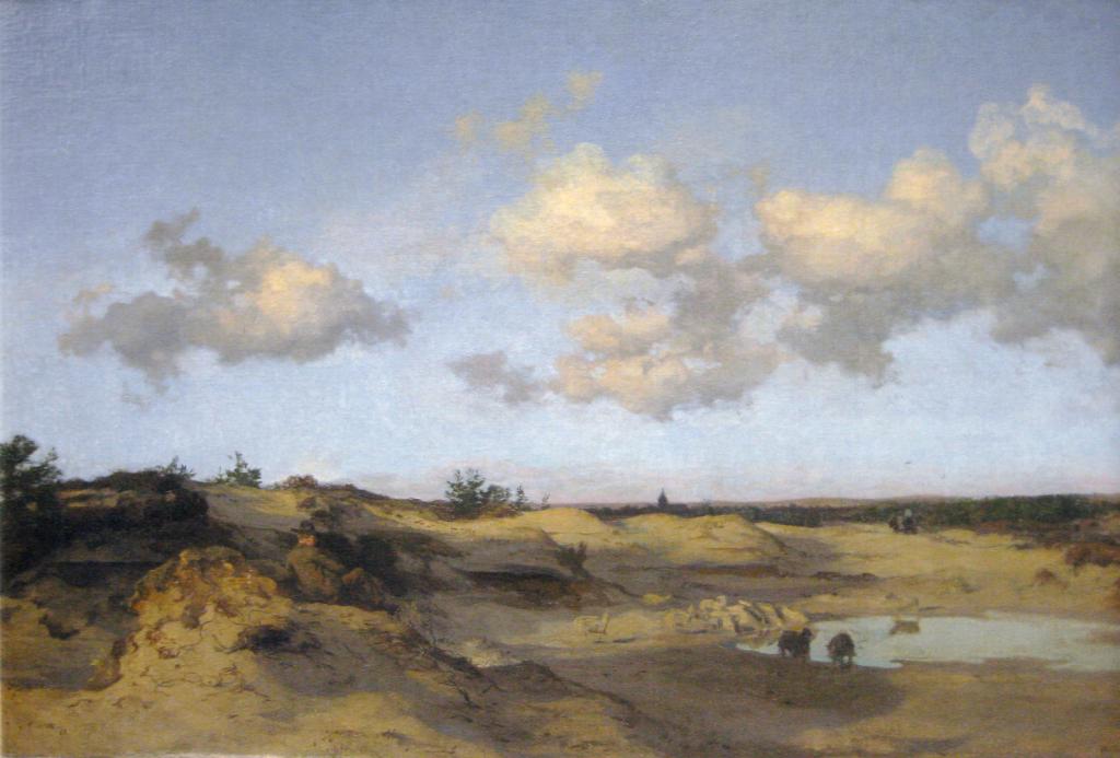 Willem Tholen Duinlandschap bij Oranjezon op Walcheren
