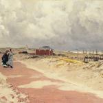 Frederik Hendrik Kaemmerer, De nieuwe boulevard bij Scheveningen, ca. 1870