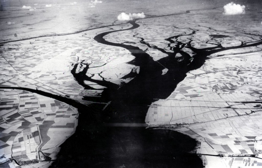 Hollands Diep en Biesbosch voor 1960