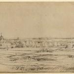 Rembrandt: Saxenburg bij Bloemendaal