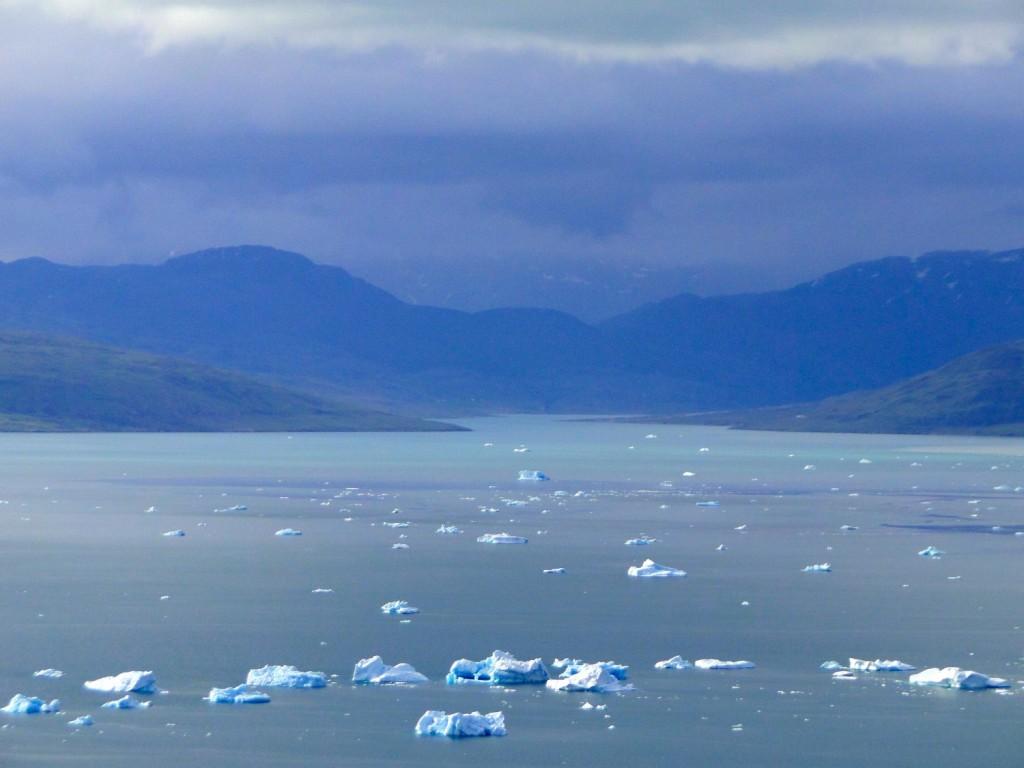 4 de zee bij Groenland, 2014 foto Leela Kraaijeveld