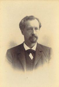 1. Hugo de Vries (1848-1935). UvA Bijzondere Collecties (Artis Bibliotheek).