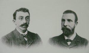 3. Eli Heimans (1861-1914) en Jac. P. Thijsse (1865-1945). UvA Bijzondere Collecties (Artis Bibliotheek), archief Heimans en Thijsse Stichting.