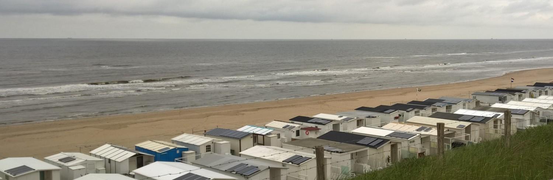 Zandvoort strandhuisjes