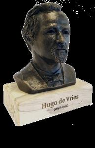 De Hugo - Beeld Hugo de Vries - ontwerp Annie van Wijngaarden